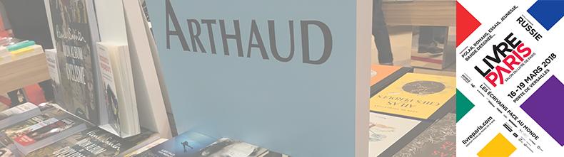 Actualit s editions arthaud for Salon du livre paris 2018